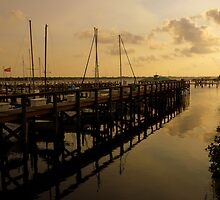 The Sun Sets On The Marina ~ Part Three by artisandelimage
