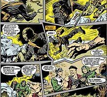 ACTION FORCE: JUNGLE TERROR P39 COLOURED by morphfix
