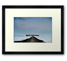 Harwich - Cargo Framed Print