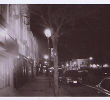 night lights of my hometown  by Bernadette De Vries