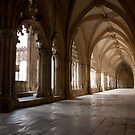 Cloisters at The Monastry of Batalah, Portugal by Jan Bickerton