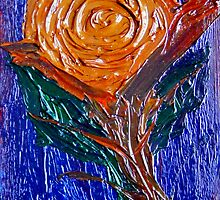 Painted Rose. by Paul Rees-Jones