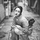 A  JAPANESE  GIRL  by yoshiaki nagashima