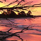 Yamba Sunset by Redpopy