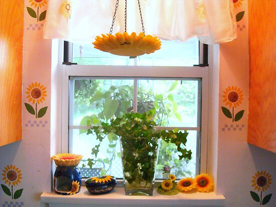 Kitchen windowsill - (SMALLTOWN USA series) ^ by ctheworld