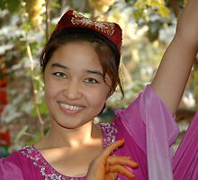 Uyghur Dancer by Pete Foley