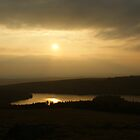 Sunset from Sheepstor by Neboal