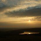 Sunset over Burrator by Neboal