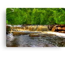 Wainwath Force - Keld 2 of 5 Canvas Print