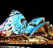 Opera by light - Sydney Opera House by samkoh