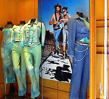 Rome Store Window Jeans by Dana Roper