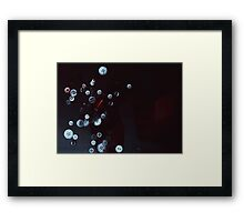 Creating Planets Framed Print