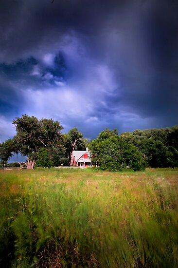 Hut Colorado by Melinda Kerr