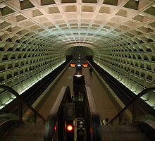 DC Metro Underground by Heather Short
