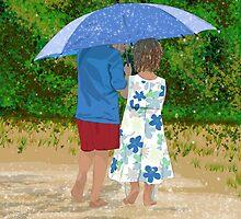 Rainy Day by crazyhair13