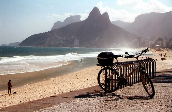 Ipanema Beach by Wayne Gerard Trotman