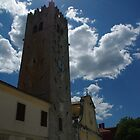 Church in Motovun by Rasevic