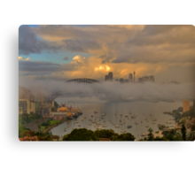 Play Misty For Me  - Moods Of A City - The HDR Experience Canvas Print
