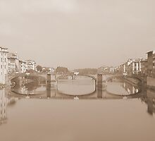 View from the Ponte Vecchio by Scott Mason