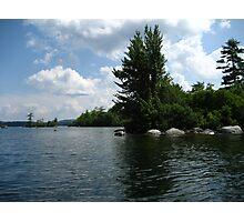 "Squam Lake, NH = ""On Golden Pond"" !!!  (movie location!) Photographic Print"