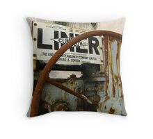 now retired Throw Pillow