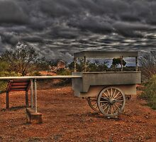 The Infamous Ice Cream Cart by Rod Wilkinson