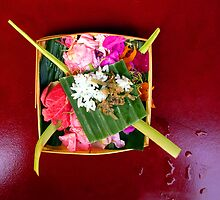 Balinese offering by JonathaninBali