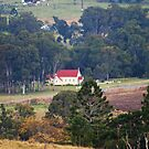 Rural Church via Rathdowney Qld by Virginia McGowan