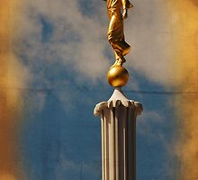 Provo LDS Temple - Angel Moroni by Ryan Houston