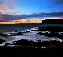 Sunrise at Kings Rocks, Stanley, NW Tasmania by Garth Smith