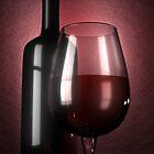 Wine and grapes by YamatoHD