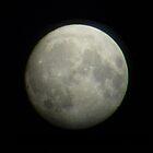 The moon seen from the Netherlands 2 by Sebastiaan Koenen