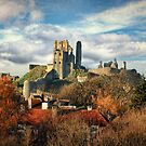 Autumn at Corfe by Amanda White