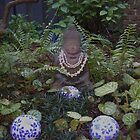 Luminous Buddha in my gardner 2008 by Satya-Seer