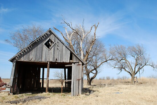 Old Barn by Suz Garten