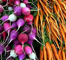 carrots & radishes by Jimmy Joe