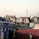 Les toits de Paris (Paris rooftops) by Alex Howen