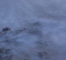 Foggy Rocks, blairgowrie backbeach by wilsonsz