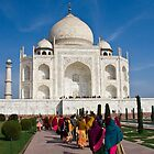 Obligatory Taj photo by Tim Lawes