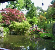 Chinese garden, Biddulph Grange, Staffordshire, central England (2) by Philip Mitchell