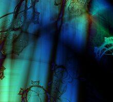 Side of a Blue Being by Jelena Mrkich