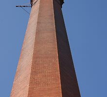 Smokestack, Thurber, Texas by TxGimGim