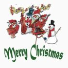 Merry Christmas Chums by Linda Holloway