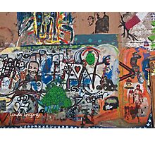 Bisbee, Arizona Graffiti Wall 2009 Photographic Print