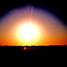 Orange Sunrise by Daneann