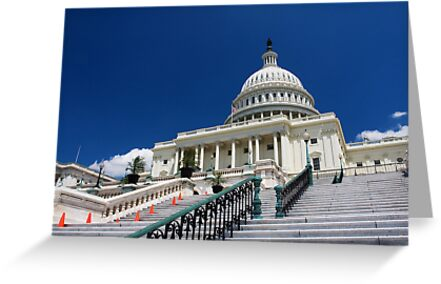 U. S. Capitol Building by kathy s gillentine