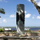 Ribault Monument by Joe Norman