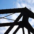Top of a Train Bridge by JenniferJW