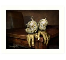 time on your hands Art Print