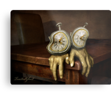 time on your hands Metal Print